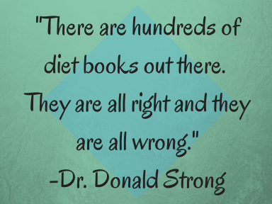 -There are hundreds of diet books out
